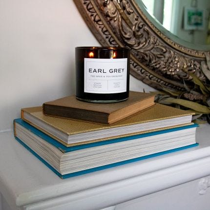 Earl Grey Candle