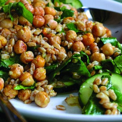 Zahtar Chickpea Salad