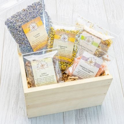 Fit for a Goddess Spa Crate