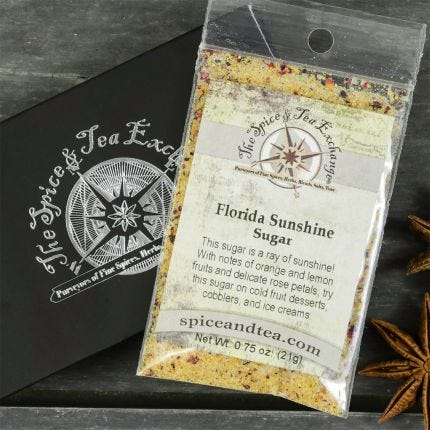 Florida Sunshine Sugar Barter Box