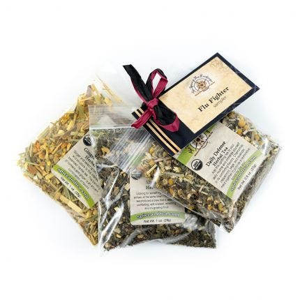 FLU FIGHTER tea sampler