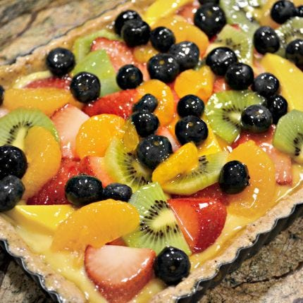 TasTEA Fruit Tart