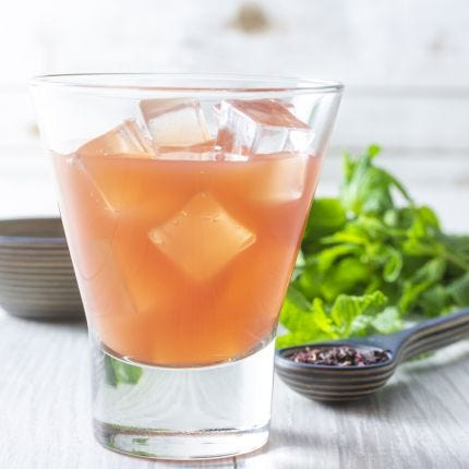 Ginger Turmeric Hibiscus Tonic
