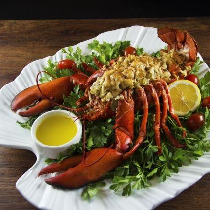 Herb Stuffed Lobster