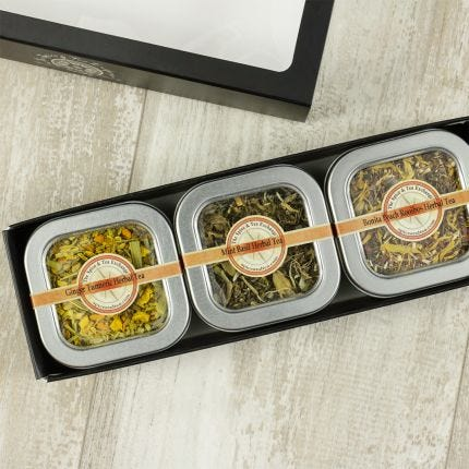 Herbal Tea 3 Tin Gift Box
