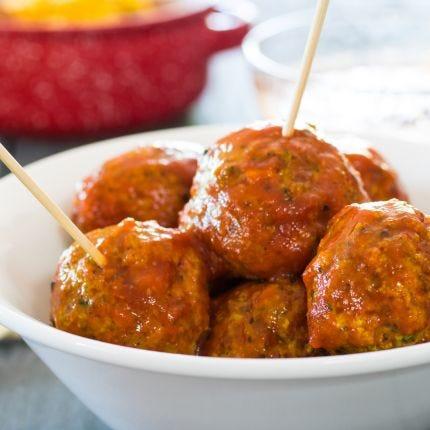Tuscan Turkey Meatballs