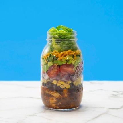 Sizzlin' Southwest Mason Jar Salad