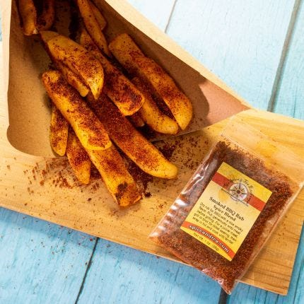 BBQ Baked Potato Fries