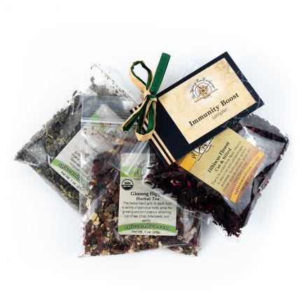 IMMUNITY BOOST tea sampler