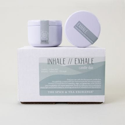 Inhale / Exhale Candle Duo