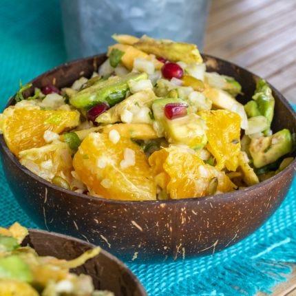 Jicama Fennel & Avocado Salad
