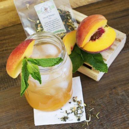 Mango Green Tea Peach Cocktail