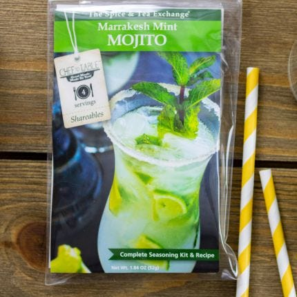 Marrakesh Mint Mojito Recipe Kit