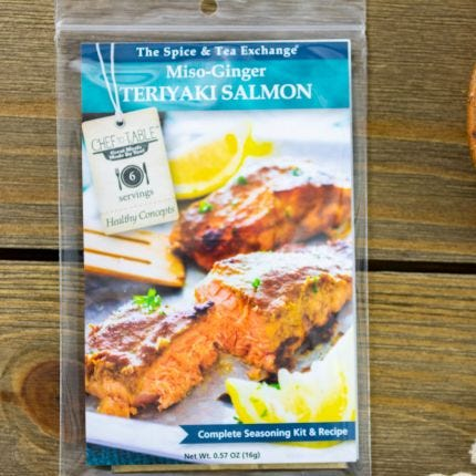 Miso-Ginger Teriyaki Salmon Recipe Kit
