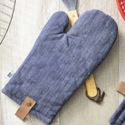 Oven Mitt - Renew Denim