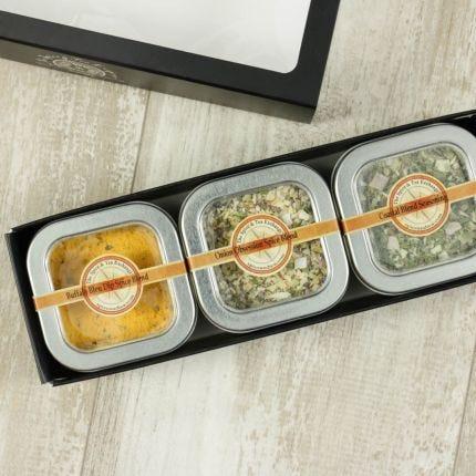 Party Dips 3 Tin Gift Box