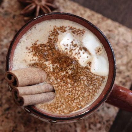 Peruvian Spiced Hot Chocolate