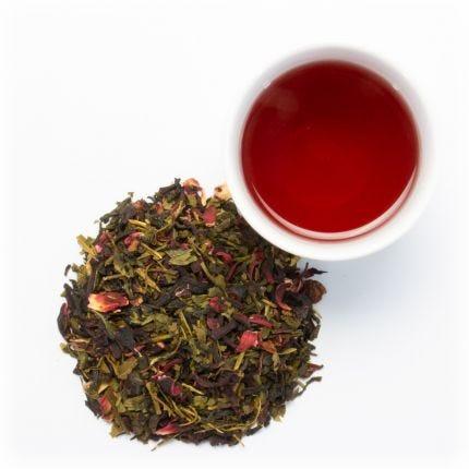 POMEGRANATE GREEN  green tea blend