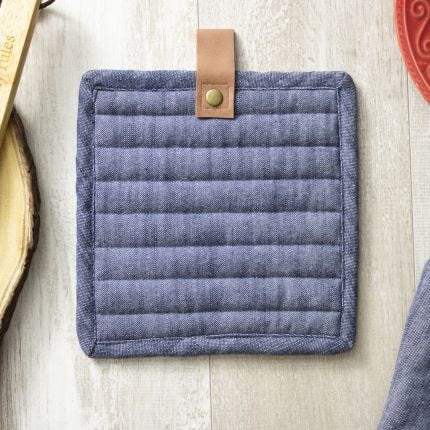 Denim Pot Holder