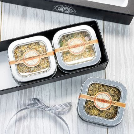 Salt-Free 3 Tin Gift Box