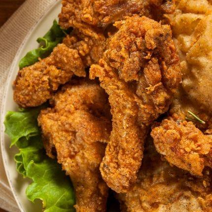 Salt & Vinegar Fried Chicken