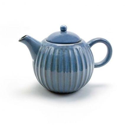 Shell Teapot Cornflower