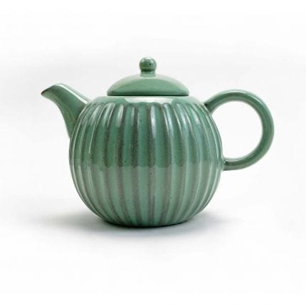 Shell Teapot Sage