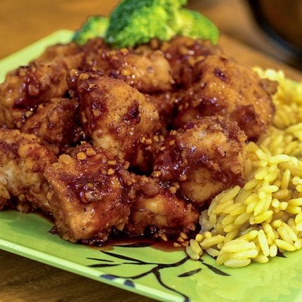 Slow Cooker General Tso's Chicken