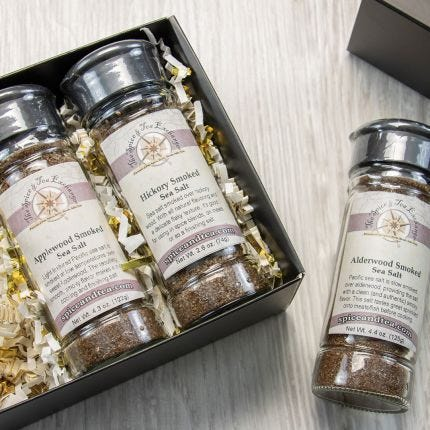 Smoked Salt Shaker Gift Box