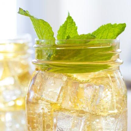 Sparkling Mint Ginger Julep