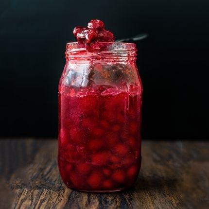 Spiced Cider Cranberry Sauce