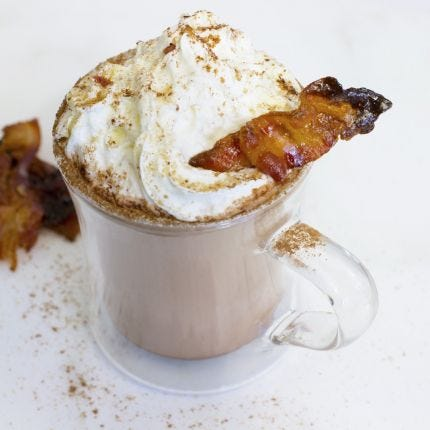 Spiced Cocoa & Caramelized Bacon