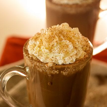 Spiked Butterscotch Hot Cocoa
