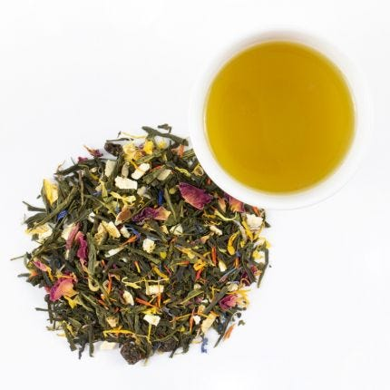 Strawberry Meadows Green Tea