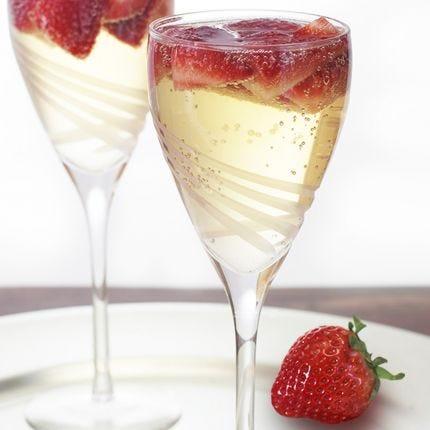Strawberry Jasmine Spritzer