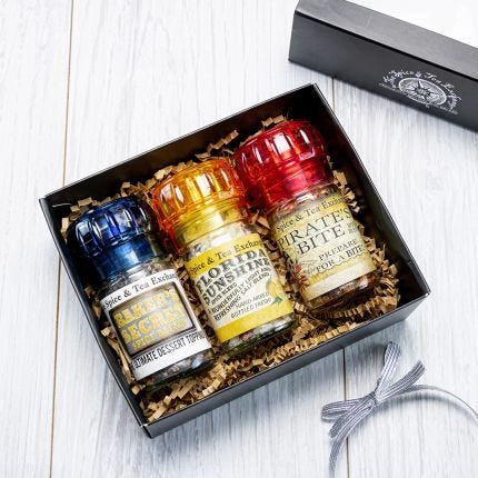 Sweet & Spicy Mini Grinder Trio Gift Box