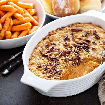 Harvest Sweet Potato Casserole