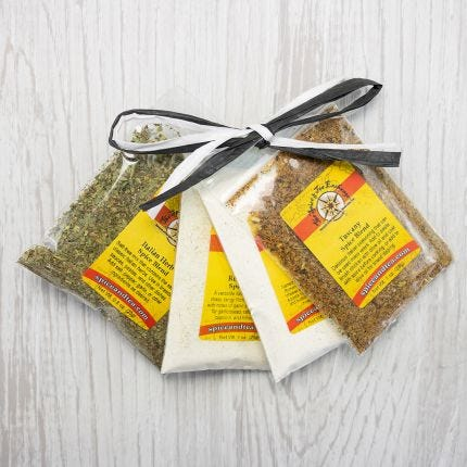 DESTINATION: ITALY spice blend sampler