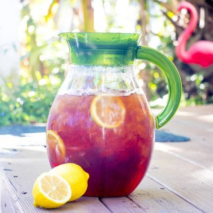 Gallon Tea Pitcher with Filter