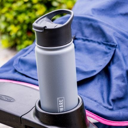 Tea Tumbler - Traveler Grey