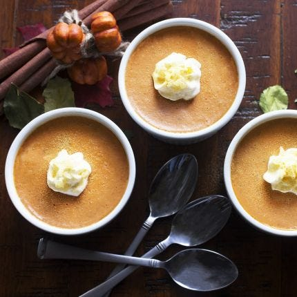Thai Pumpkin Custard