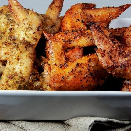 Ultimate Baked Wings