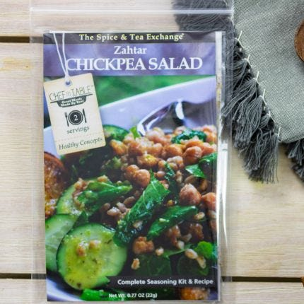 Zahtar Chickpea Salad Recipe Kit