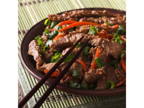 Korean Beef Bulgogi Recipe The Spice Tea Exchange